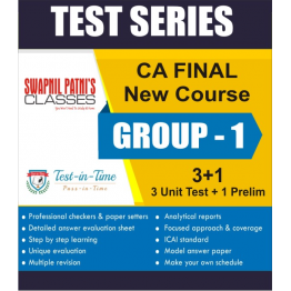 CA Final Group 1 Regular Course combo Test Serial  :  SPC  (For MAY 2021 TO NOV.2021)