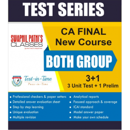 CA Final Both Group  Regular Course combo Test Serial  :  SPC  (For Nov. 2020 and May 2021)