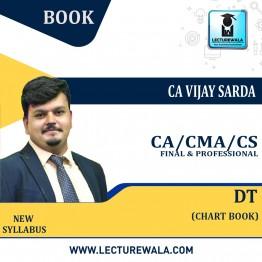 CA Final / CMA Final & CS Professional DT Chart Book (Part - 1) : Study Material By CA Vijay Sarda (For May & NoV 2021)