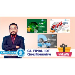 CA Final IDT Questionnaire + MCQ  Book  : Study Material By CA Vishal Bhattad (For Nov. 2021)