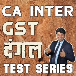 CA Inter GST Dangal Test Series : By Yashvant Mangal  (For Nov. 2021)