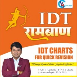CA Final Indirect Tax (GST & Custom , FTP) Ramban Charts Book : Study Material By CA Yashvant Mangal (For Nov. 2021 And Onward )