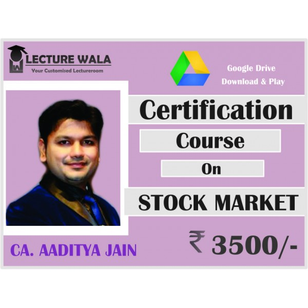 STOCK MARKET CERTIFICATION COURSE BY CA AADITYA JAIN